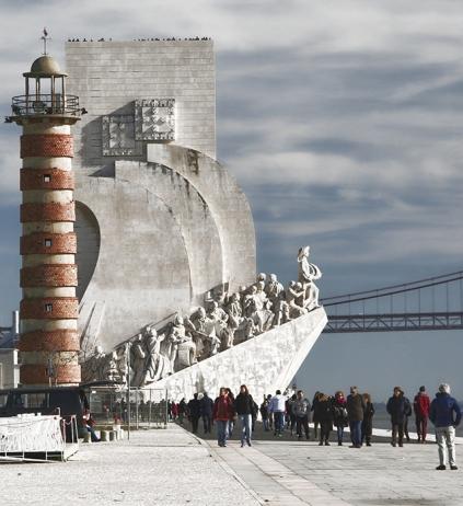 Monumento a los descubridores o descubrimientos Lisboa