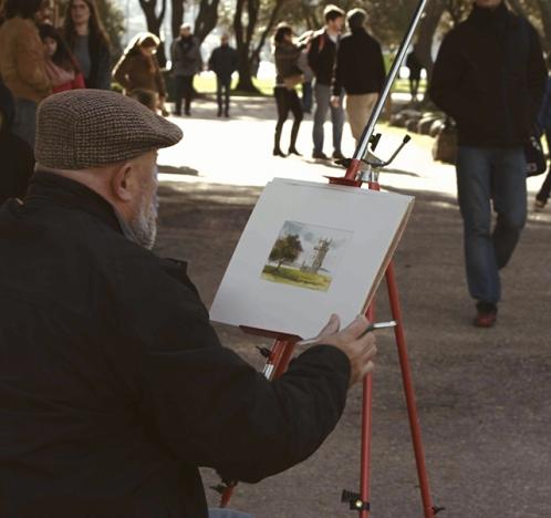 Pintores en Lisboa, arte en Portugal