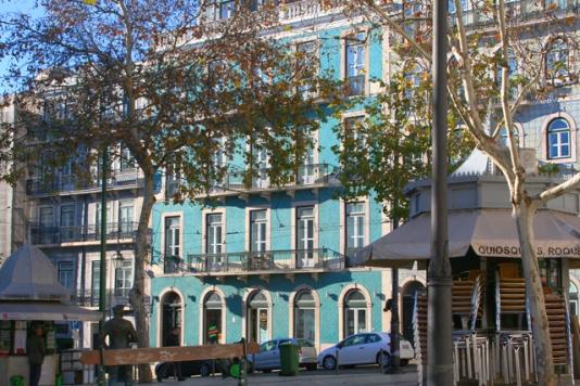 fachadas verde lisboa