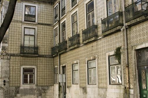 calles viejas Lisboa