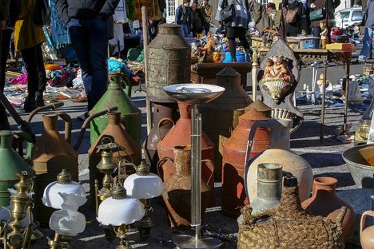 mercados en lisboa con encanto antiqüedades