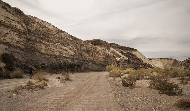 escenarios de películas en el desierto de Tabernas