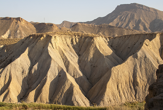 erosión en Andalucía