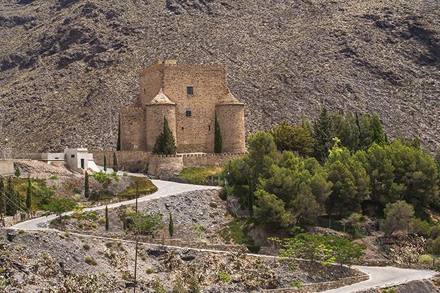 castillo El Gergal Almería
