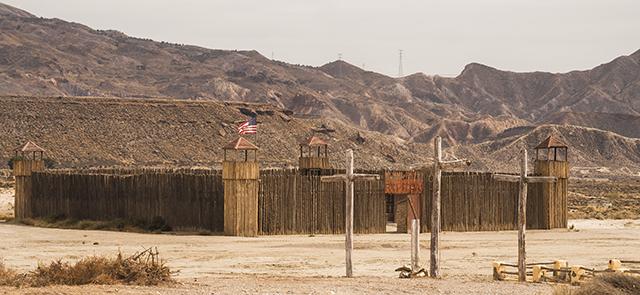 Atractivos del desierto de Tabernas