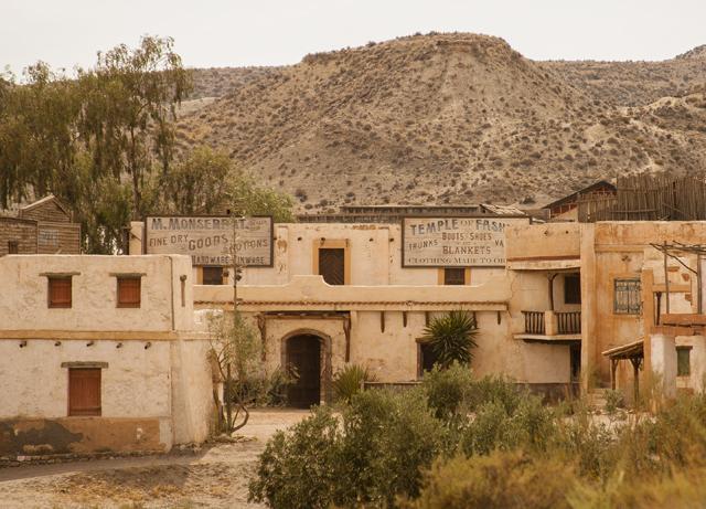 Almería escenarios far west