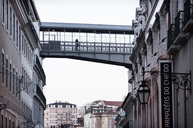 Lisboa en un día gris