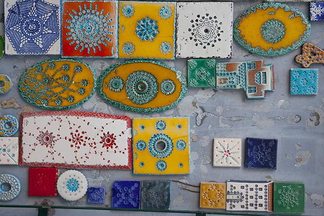 imanes de viajes cerámica lisboa