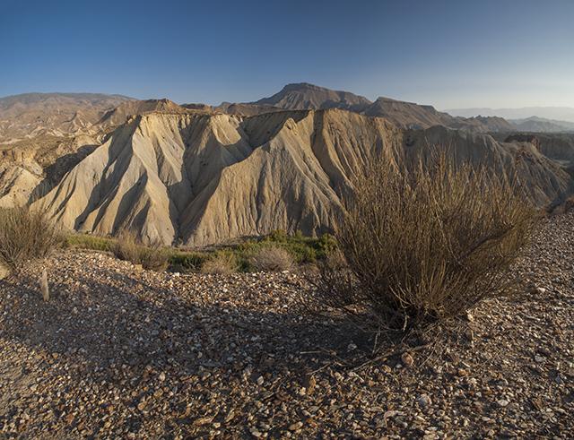 vistas panorámicas desierto de Tabernas Almería