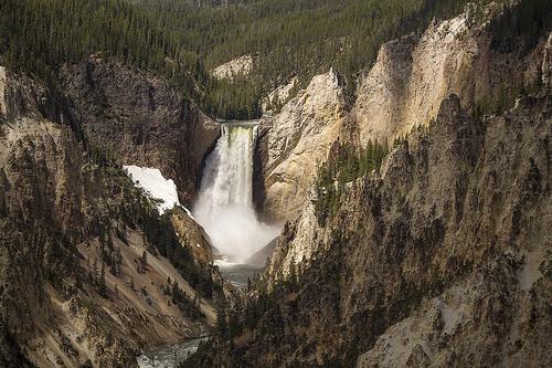Yellostone canyon USA