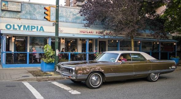 viejo coche en Vancouver Canadá