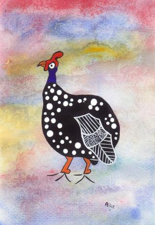 guinea Fowl Alice