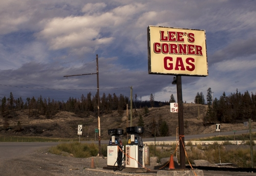 lee's corner gas Chilcotin