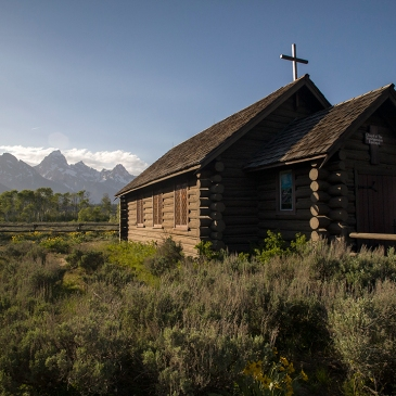 Capilla de la Transfiguración. Wyoming. USA
