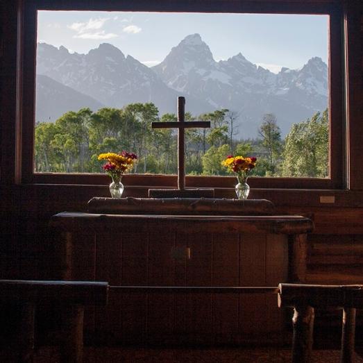 Transfiguration Chapel. Wyoming. USA.