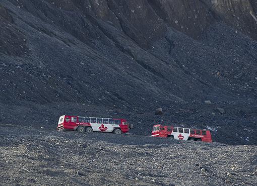 Glacier bus Icefield
