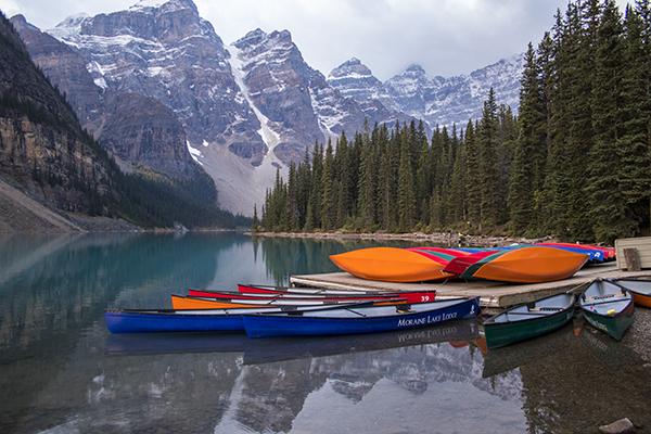 Moraine Lake Canadá Te cuento de viajes