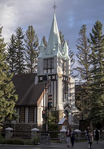 Iglesia en Banff