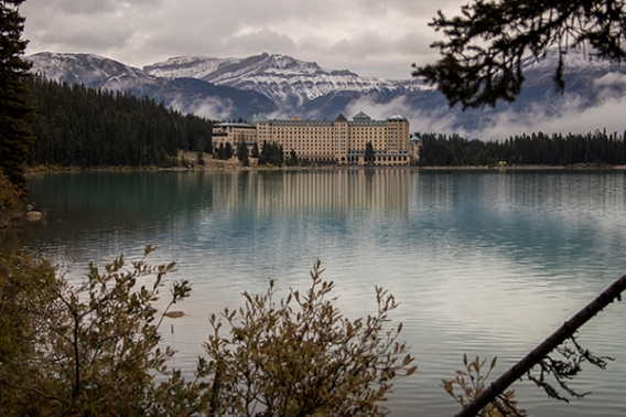 Lake Louise chateau Canada