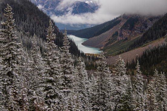 Vistas de Lake Louise