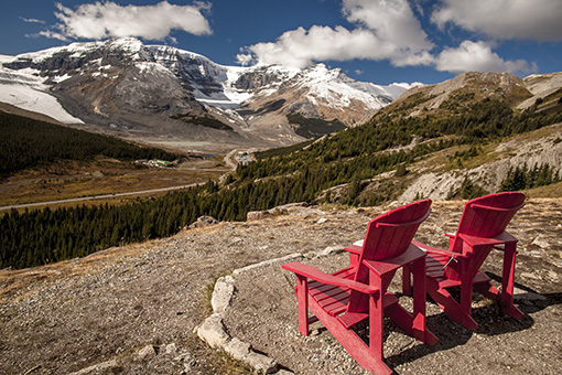 Sillas Canada Wilcox Pass red Chairs