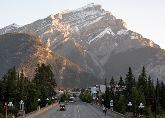 Vista de Banff
