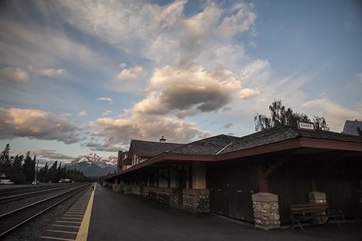 Banff. Estacion de tren