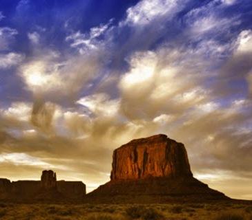 Monument valley hora azul Te cuento de viajes