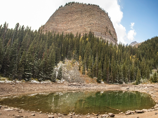 Mirror Lake, Beehive Mountain
