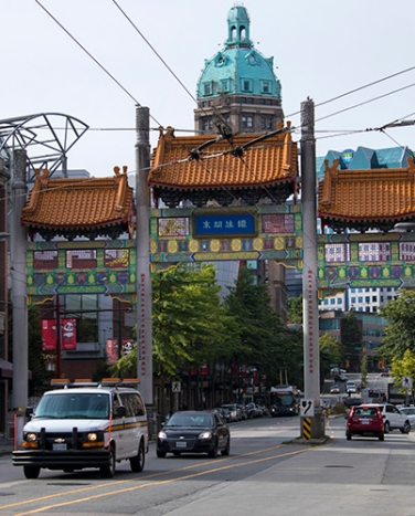 Vancouver China town