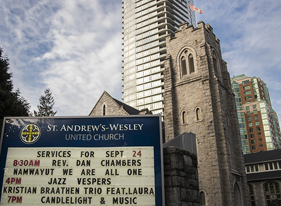 iglesia St Anderw´s-Wesley Vancouver, Canadá