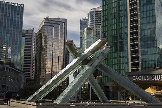 antorcha juegos olímpicos Vancouver, Canadá