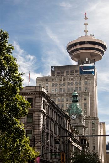 torre mirador harbour center, Vancouver, canadá