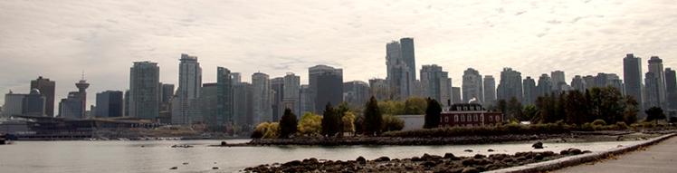 skyline de Vancouver city (Canadá)