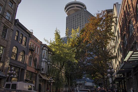 Una calle de Vancouver Canadá