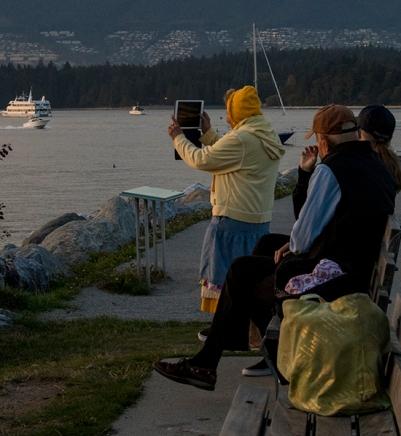 tercera edad y nuevas tecnologías, Vancouver, Canadá