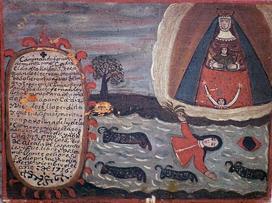 Exvoto Terremoto 1755