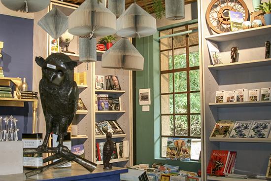 Librería Skukuza camp Kruger National Park Te cuento de viajes