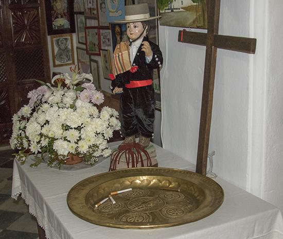 Monaguillo ermita Virgen de Los Santos Alcalá