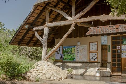 Recepción Skukuza camp
