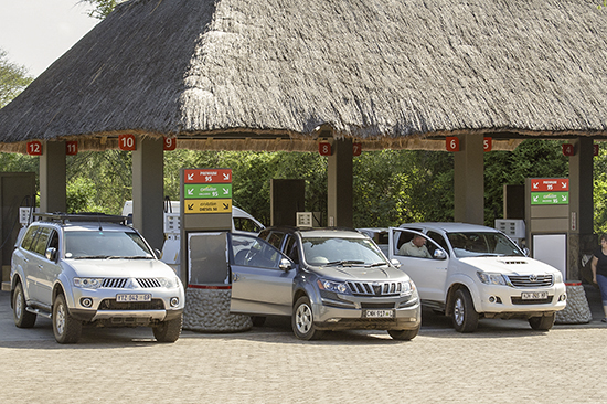 Gasolinera Skukuza camp Kruger National Park