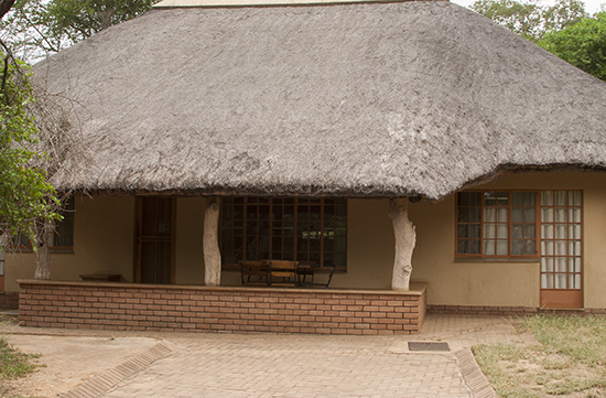 Cottage Skukuza camp Kruger N.P.