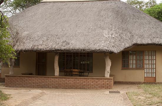 Cottage Skukuza camp Kruger N.P.