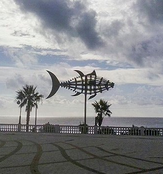 Paseo marítimo Barbate Cádiz