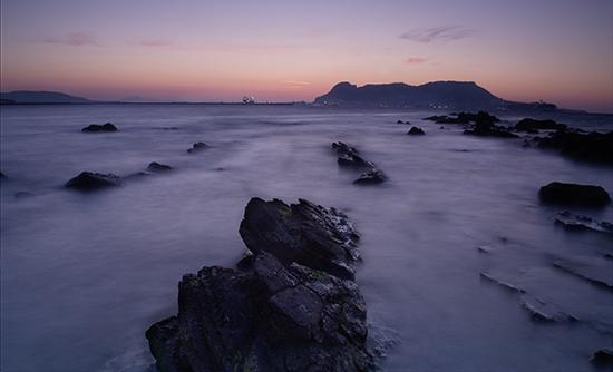 Amanecer Gibraltar Algeciras Cádiz