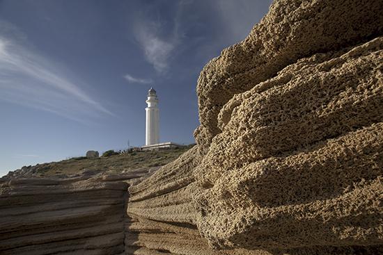 Duna fósil faro de Trafalgar Cádiz