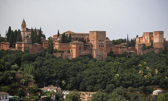 Vistas de la Alhambra desde el Albaicín