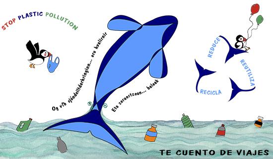 Whale plastic Pollution fbk