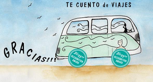 Furgoneta viajera ilustración acuarela del blog Te cuento de viajes