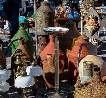 Mercado de los ladrones - feira da ladra -Lisboa - mercadillo Alfama